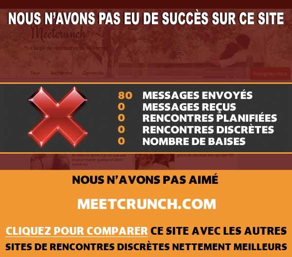 MeetCrunch rencontre discrète